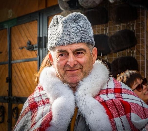 莫斯科郊外的俄罗斯皮货商