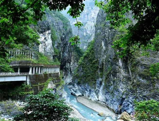 台湾太鲁阁大峡谷掠影